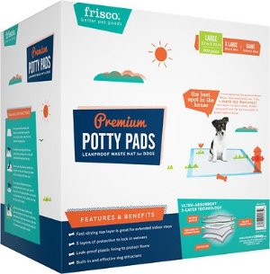 Frisco Training & Potty Pads, 22-in x 23-in, 200 count - Chewy.com