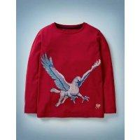 Boden 儿童 Buckbeak 刺绣T恤
