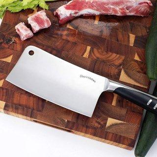 $11.99(原价$79.95)白菜价:Utopia Kitchen 不锈钢菜刀 7寸款家用必备