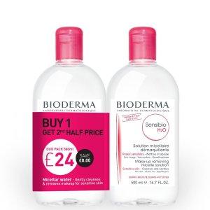Bioderma价值£32!变相6折!卸妆水500ml *2