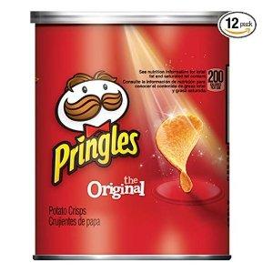 $6.47闪购:Pringles 原味薯片 12罐 酥酥脆脆超好吃
