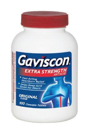 Gaviscon 铝镁止酸片,100 count