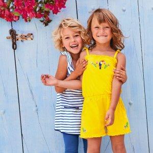 全部7折仅4天 支持免费退货折扣升级:Mini Boden官网 儿童夏季新款热卖