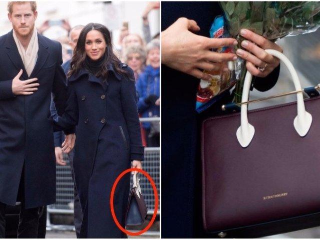 准王妃梅根的包包居然破坏了皇室的规矩?!