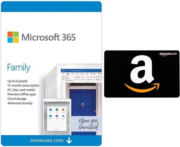 365 家庭版 带1TB OneDrive 12月/6人