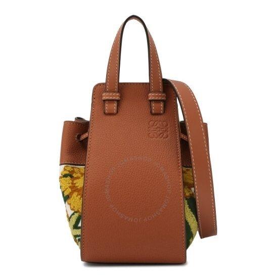 Hammock刺绣花纹手提包