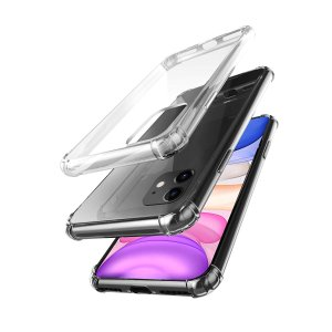 amCase Clear TPU Corner Bumper Protection Case for iPhone 11/Pro/Max
