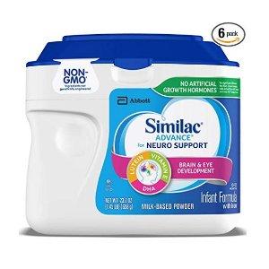 低至6折+额外9.5折Similac 婴幼儿配方奶、液体奶特卖