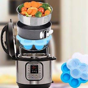 现价$29.99(原价$39.99)Instant Pot电压力锅 必备配件6件套 5 6 8夸脱都适用