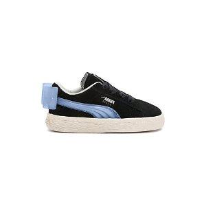 Puma蝴蝶结麂皮鞋