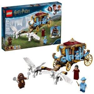 Lego史低价哈利波特 布斯巴顿魔法学校的飞行马车 75958