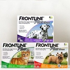 全场7.5折Frontline Plus 宠物体外驱虫剂大促销