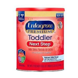 $4 Off + Free ShippingEnfagrow Premium Toddler Next Step Milk Drink Powder (36.6 oz) @Sam's Club