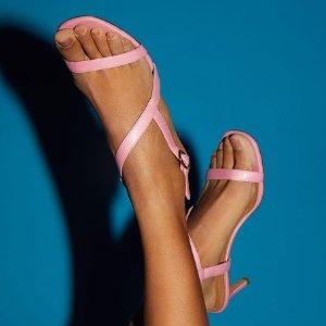 低至4折 封面款$225 免邮免税Mansur Gavriel 官网鞋履、服饰大促 收甜美马卡龙色