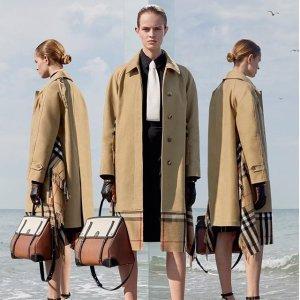 最高立减$500 变相7.5折收经典双肩包独家提前享:Burberry 时尚热卖,经典法式风衣,格子衬衣全有