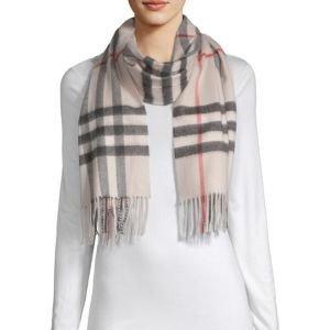 Burberry满$400减$100,最高减$500- Stone Giant 羊绒围巾