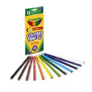 Crayola经典12色彩铅