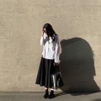 COS 黑色半裙