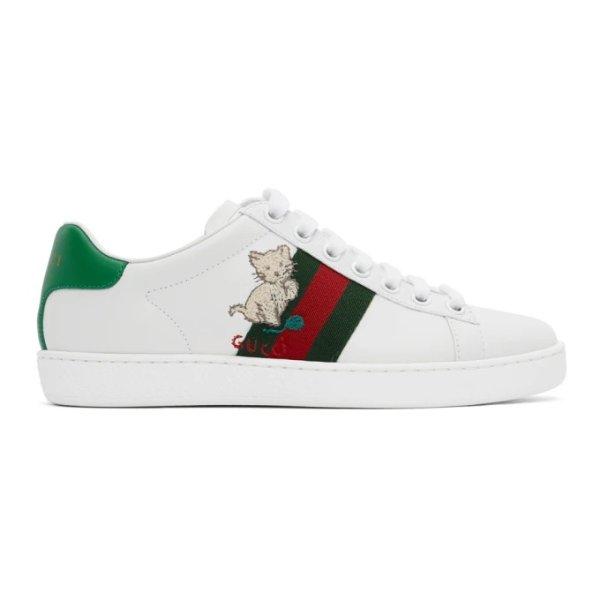 小猫运动鞋