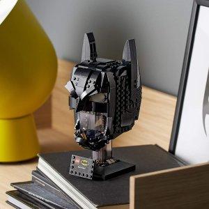 $54.86($原价79.99)LEGO 76182 蝙蝠侠头雕  漫画迷必入(410块)