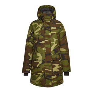 Canada Goose- Canmore Camouflage Down Parka with Cotton