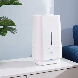 Odec 4.5L 带夜灯超声波冷雾加湿器 顶部加水 可用精油