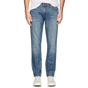 J Brand男士直筒牛仔裤