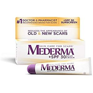 Amazon.com: Mederma Scar Cream Plus SPF 30 - Reduces the Appearance of Old & New Scars While Helping Prevent Sunburn - # 1 Doctor & Pharmacist Recommended Brand for Scars - 20 Grams: Beauty