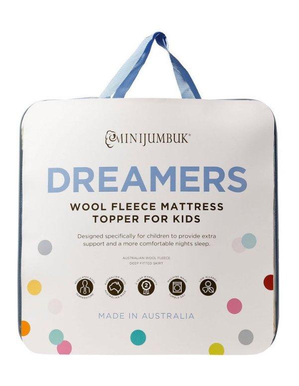 Dreamers 儿童羊毛床垫