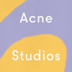 $110起 经典围巾色全Acne Studios秋款上新,新款动物系列卫衣$290码全