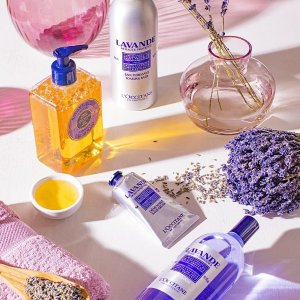 Earn Up to $30with Online Purchase @ L'Occitane
