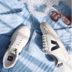 变相67折 €76即收Veja 法国小白鞋 价格亲民 设计环保 小众不撞鞋 博主出街必备