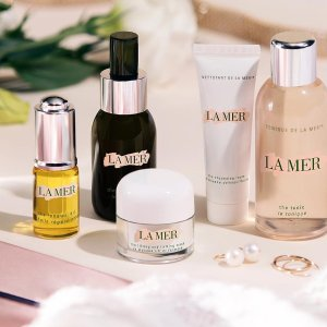 Last Day: Dealmoon Exclusive Early Access Enjoy 15% off+Receive 18 FREE Holiday Treasures deluxe beauty samples with $175+ La Mer Purchase @bluemercury