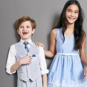 低至4折Macys 精选儿童正装及精美连衣裙热卖