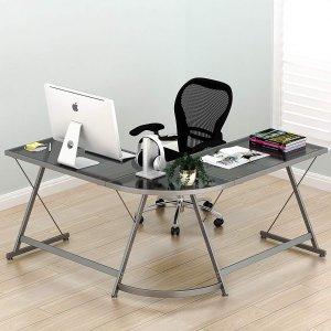 $71.29SHW Vista L型玻璃桌面电脑桌