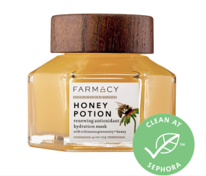 Honey Potion Renewing Antioxidant Hydration Mask with Echinacea GreenEnvy™ - Farmacy | Sephora