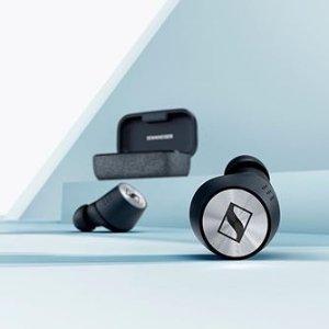 $199.99(原价$297.95)Sennheiser Momentum真无线蓝牙耳机
