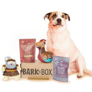 首月仅$5 + 每月可免费多一个玩具最后一天:Barkbox 狗狗神秘订阅礼盒 为你家汪汪准备的专属礼物盒