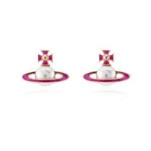 Vivienne Westwood珍珠土星耳钉