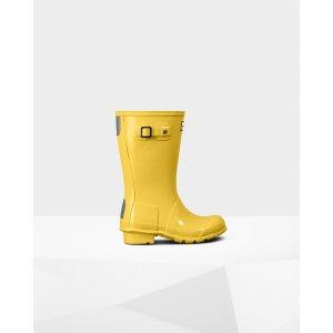 Hunter雨靴大童款