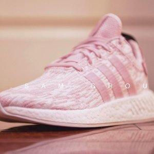 满减£15+包税直邮中国Adidas 精选女鞋热卖  初恋系NMD粉色款仅¥439