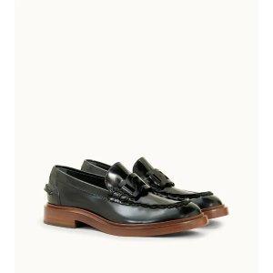 Tod's肖战类似款漆皮乐福鞋