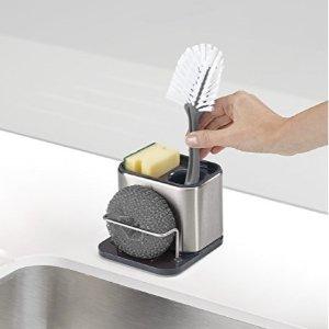 史低价:Joseph Joseph 不锈钢厨房洗碗池收纳架