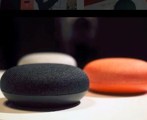 $53(原价$75)Google Home Mini 鹅卵石造型智能音箱