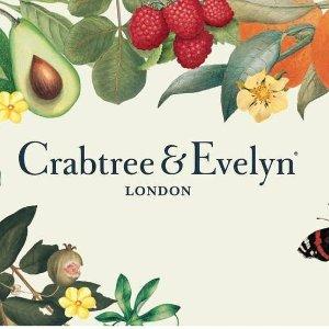 最高7折优惠,收Evelyn Rose系列最后一天:Crabtree & Evelyn 国庆日大促 贵族同款护手霜收一波