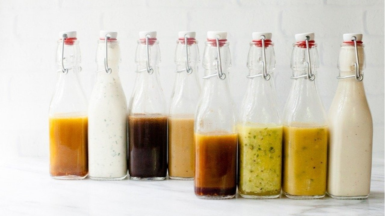 自制沙拉酱配方 | 一周七天不重样, 低卡又简单, 减肥健身必备