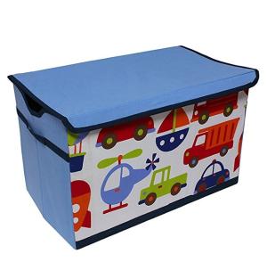 $13.67(原价$84.51)Bacati Transportation 儿童玩具收纳箱