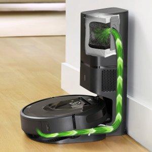 7.8折 现价€784(原价€999)iRobot Roomba i7+ 旗舰级智能扫地机器人限时特价 带自清洁集尘桶