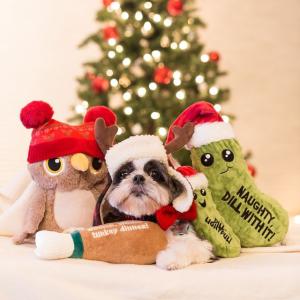 全场5折Holiday Tails 宠物圣诞主题服饰、玩具、零食等促销