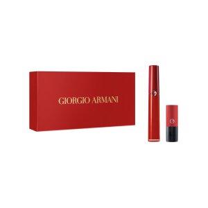 Giorgio Armani红管400唇釉套装